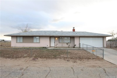 Lancaster Single Family Home For Sale: 41341 158th Street East