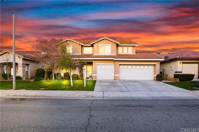 Palmdale Single Family Home For Sale: 40320 Vista Pelona Drive
