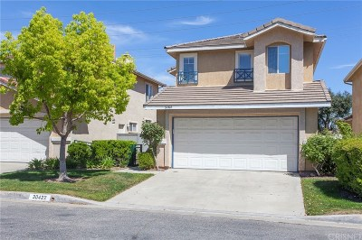 Santa Clarita, Canyon Country, Newhall, Saugus, Valencia, Castaic, Stevenson Ranch, Val Verde Single Family Home For Sale: 30422 Daisy Court