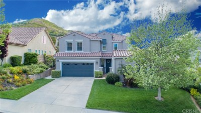 Saugus Single Family Home For Sale: 28508 Agajanian Drive