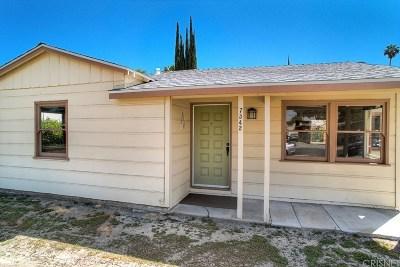 Canoga Park Single Family Home For Sale: 7342 Loma Verde Avenue