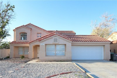 Palmdale Single Family Home For Sale: 2217 East Avenue R4