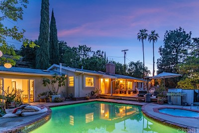 Los Angeles Single Family Home For Sale: 3429 Bonnie Hill Drive