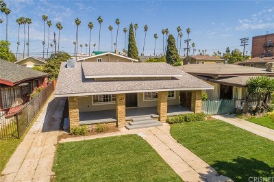 Los Angeles County Single Family Home For Sale: 244 South Kingsley Drive