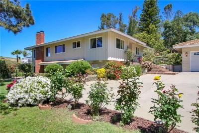 Thousand Oaks Single Family Home For Sale: 2087 Calle Salto