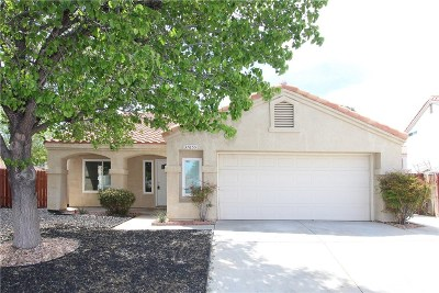 Palmdale Single Family Home For Sale: 37655 Cardiff Street