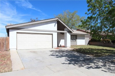 Palmdale Single Family Home For Sale: 37916 28th Street East