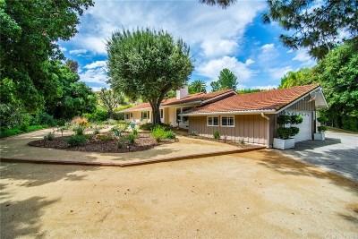 Tarzana Single Family Home For Sale: 4369 Vanalden Avenue