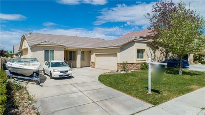 Palmdale Single Family Home For Sale: 5745 Monaco Drive