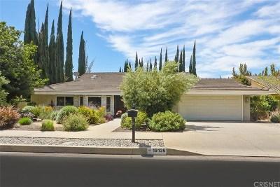 Northridge Single Family Home For Sale: 19136 Lassen Street