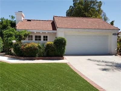Santa Clarita, Canyon Country, Newhall, Saugus, Valencia, Castaic, Stevenson Ranch, Val Verde Single Family Home For Sale: 25944 Coloretti Court