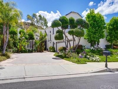 Calabasas Single Family Home For Sale: 3490 Consuelo Drive