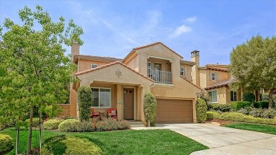 Valencia Single Family Home For Sale: 28709 Coal Mountain Court