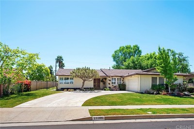 West Hills Single Family Home Sold: 23300 Community Street