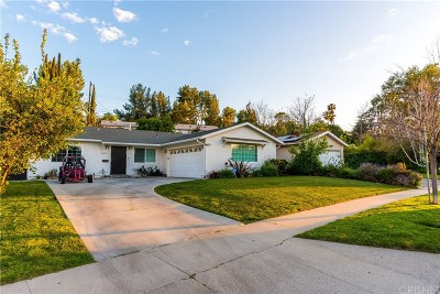 Woodland Hills Single Family Home For Sale: 23414 Erwin Street