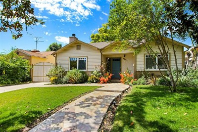 Studio City Single Family Home For Sale: 4441 Kraft Avenue