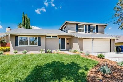 Winnetka Single Family Home For Sale: 20749 Keswick Street