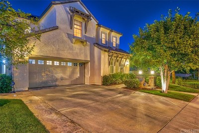 Santa Clarita, Canyon Country, Newhall, Saugus, Valencia, Castaic, Stevenson Ranch, Val Verde Single Family Home For Sale: 27012 Timberline Terrace