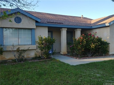 Rosamond Single Family Home Active Under Contract: 3125 Edwards Avenue