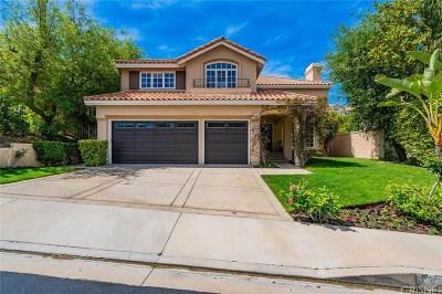 Calabasas Single Family Home For Sale: 24872 Paseo Primario