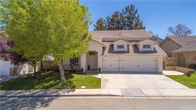 Palmdale Single Family Home For Sale: 3420 Caspian Drive