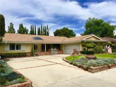 Northridge Single Family Home For Sale: 18609 Citronia Street