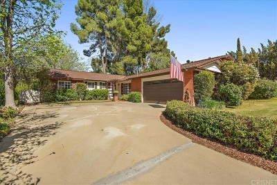 Newhall Single Family Home Active Under Contract: 26424 Oak Crossing Road