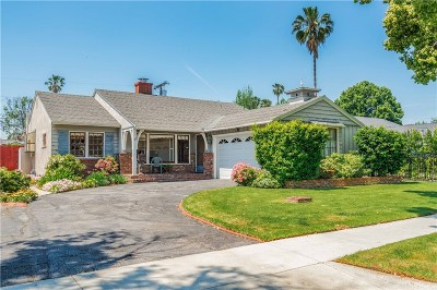 Valley Village Single Family Home For Sale: 5813 Goodland Avenue
