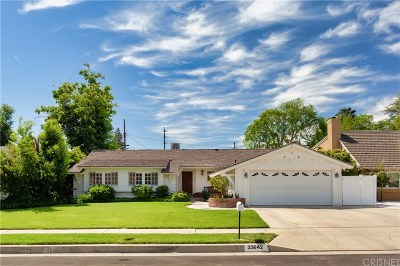 Woodland Hills Single Family Home Sold: 23642 Emelita Street