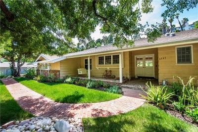 Encino Single Family Home Sold: 3747 Hayvenhurst Avenue