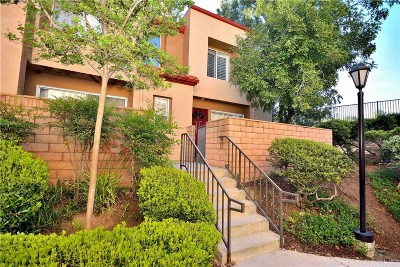 Santa Clarita, Canyon Country, Newhall, Saugus, Valencia, Castaic, Stevenson Ranch, Val Verde Condo/Townhouse For Sale: 22617 Copper Hill Drive #121