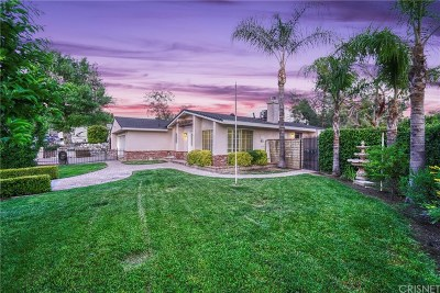 Canyon Country Single Family Home For Sale: 14852 Canna Valley Street