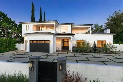 Encino Single Family Home Sold: 5412 Aldea Avenue