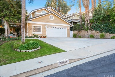 West Hills Single Family Home Sold: 23210 West Vail Drive