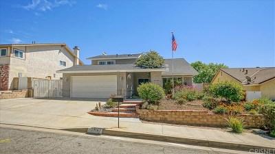 Valencia Single Family Home For Sale: 23147 Frisca Drive