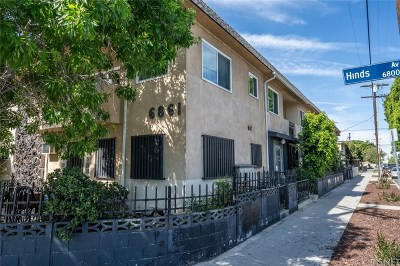 North Hollywood Condo/Townhouse Active Under Contract: 6861 Hinds Avenue #4
