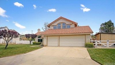 Acton Single Family Home For Sale: 32740 Rancho Americana Place