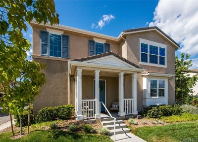 Los Angeles County Single Family Home Active Under Contract: 28251 North Via Sonata Drive