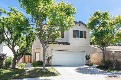Newhall Single Family Home Active Under Contract: 24842 Noelle Way