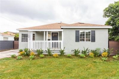 Burbank Single Family Home For Sale: 1300 South Lake Street