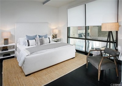 Los Angeles Condo/Townhouse For Sale: 655 South Hope Street #1107