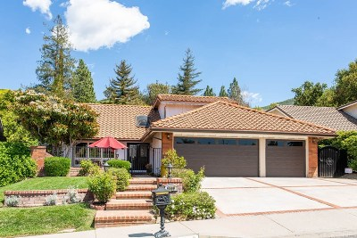 Agoura Hills Single Family Home Sold: 6300 Pisces Street