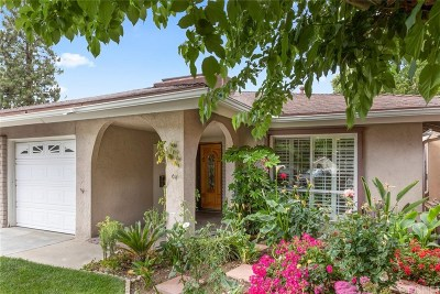 Santa Clarita, Canyon Country, Newhall, Saugus, Valencia, Castaic, Stevenson Ranch, Val Verde Condo/Townhouse For Sale: 18901 Circle Of The Oaks