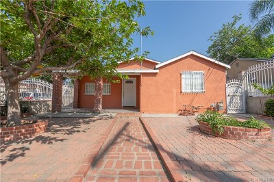 Sylmar Single Family Home For Sale: 13977 Beaver Street