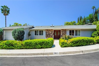Woodland Hills Single Family Home Sold: 5651 Collins Place