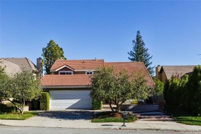 Agoura Hills Single Family Home Active Under Contract: 29167 Quail Run Drive
