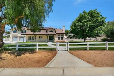 Acton Single Family Home For Sale: 32120 Cimarron Way