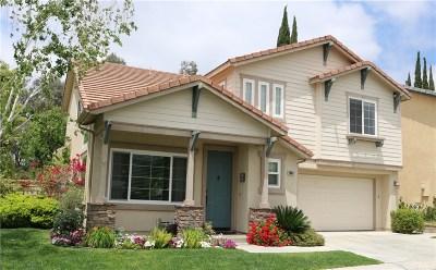 Valencia Single Family Home For Sale: 28017 Memory Lane