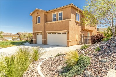 Palmdale Single Family Home For Sale: 41720 Chianti Court