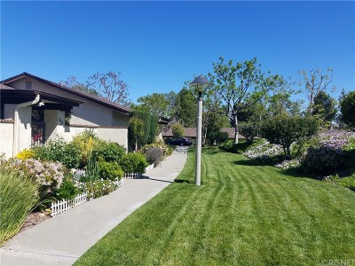 Newhall Condo/Townhouse For Sale: 26329 Oak Highland Drive #B